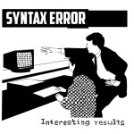 Syntax Error interesting  results