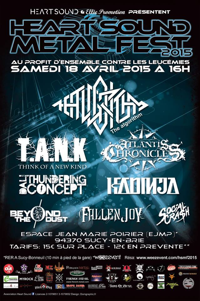 Heart of Metal affiche