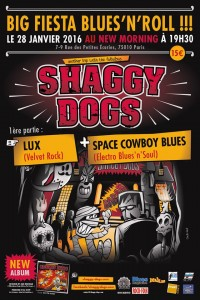 shaggy dogs affiche new morning