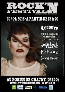 rock n festival Chauny 30 avril 2016