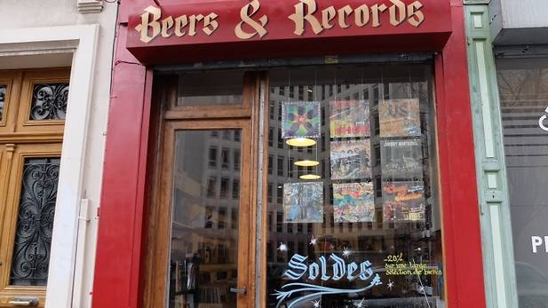 beers and records boutique