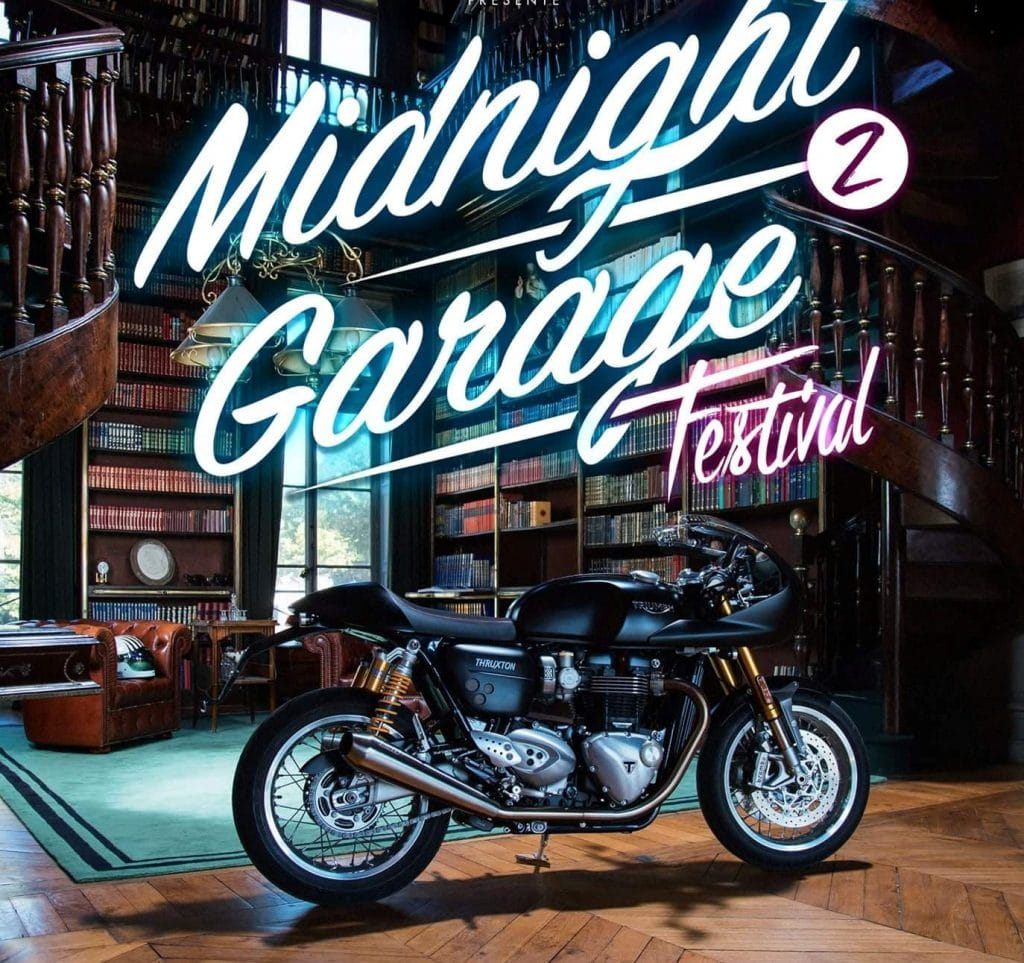 caf racer et esprit vintage paris avec le midnight garage festival. Black Bedroom Furniture Sets. Home Design Ideas